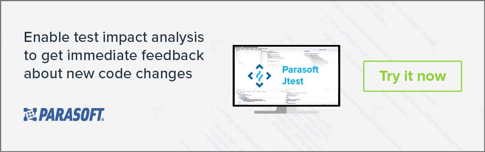 Habilite el análisis de impacto de prueba para obtener comentarios inmediatos sobre nuevos cambios de código