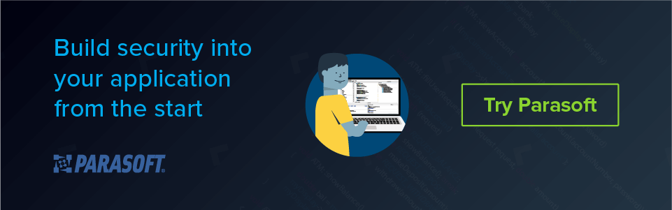 Build security into your application from the start