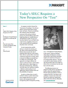 """Por qué el SDLC de hoy requiere una nueva perspectiva sobre la """"prueba"""""""