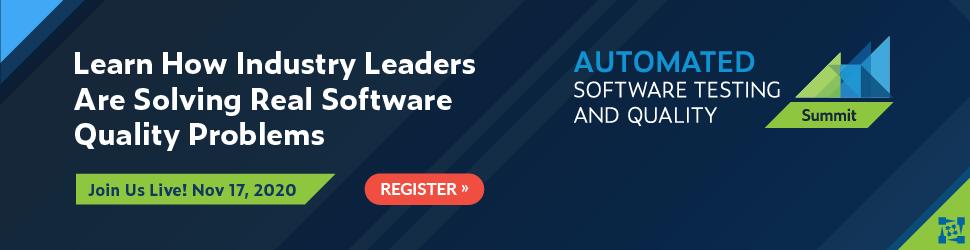 Cumbre de calidad y pruebas de software automatizadas 2020