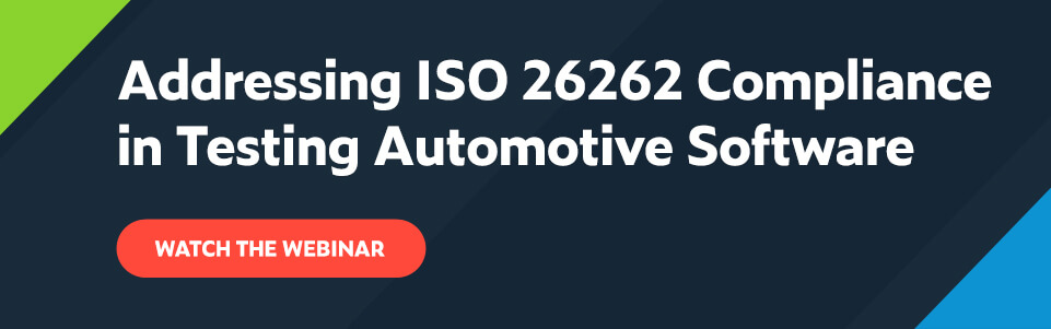 Addressing ISO 26262 Compliance in Testing Automotive Software