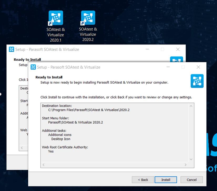Instalación de Parasoft SOAtest & Virtualize