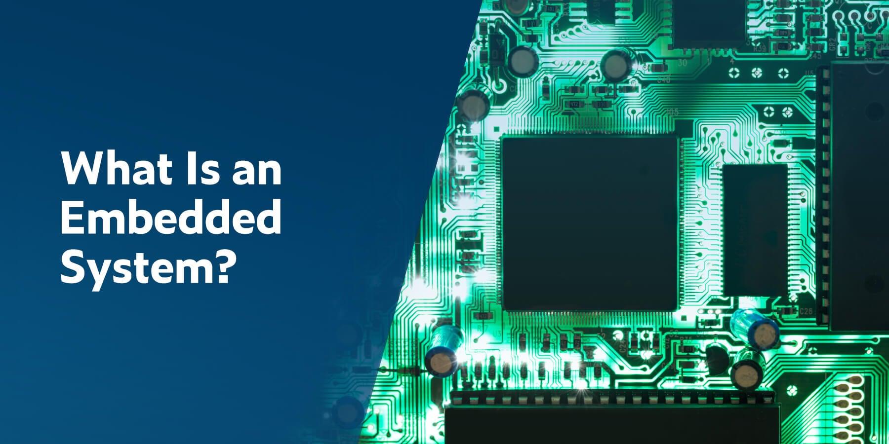 ¿Qué es un sistema integrado?