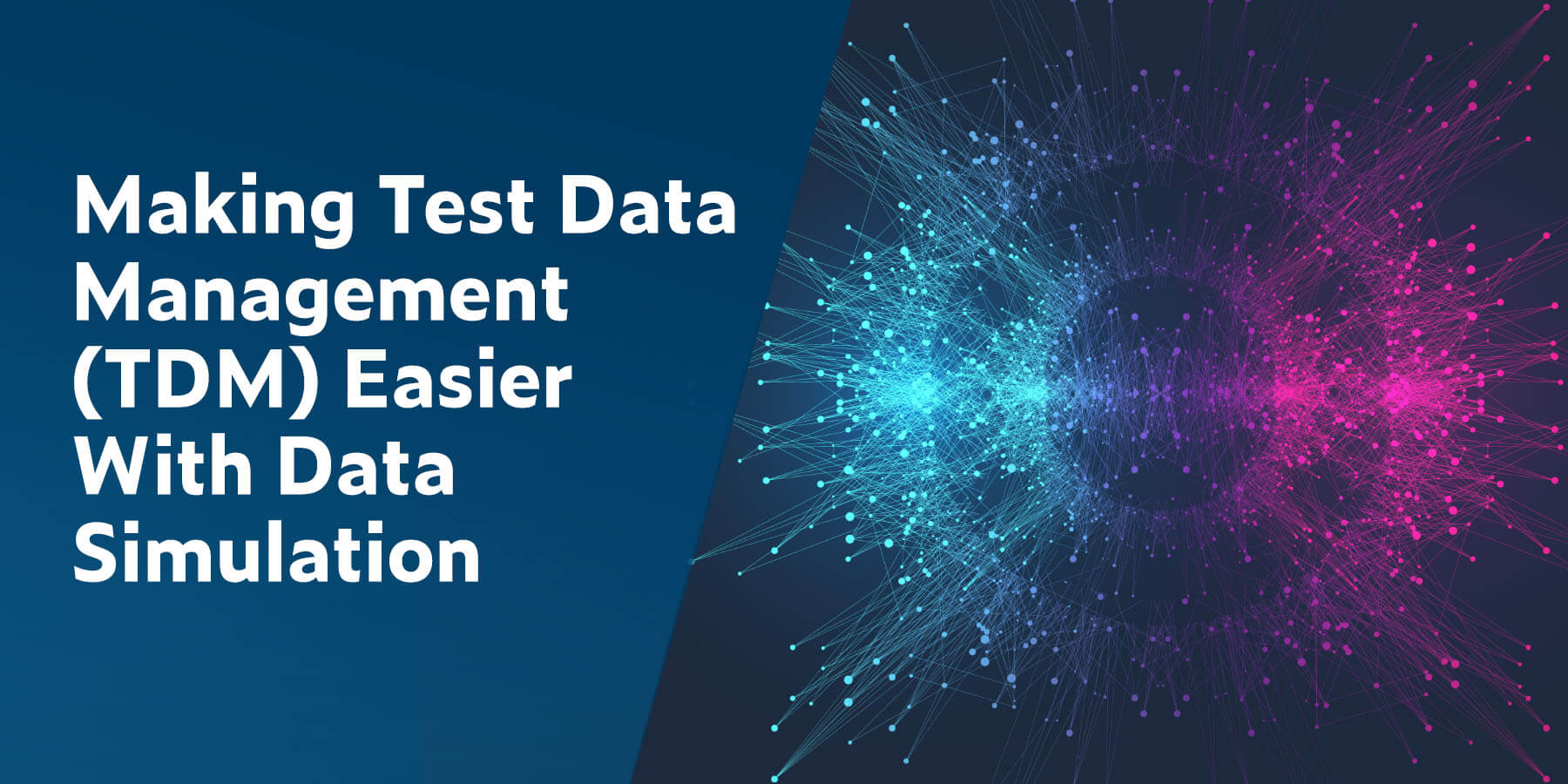 Facilitar la gestión de datos de prueba (TDM) con la simulación de datos